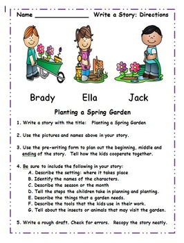 Second Grade April Core Activities