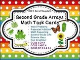 Arrays Math Task Cards: Second Grade