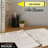 Second Grade Art Lessons. A year of curriculum. lesson plans, videos, worksheets