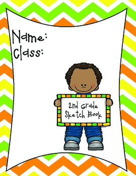 Second Grade Art Sketchbook
