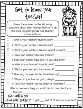 Second Grade Back to School Activities, Fun, No Prep, Engaging, Second Day