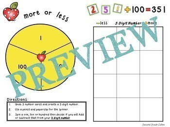 Second Grade Back to School Math Review