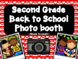 Second Grade Back to School Photo Booth 2018
