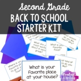 Second Grade Back to School