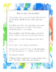 Back to School Welcome Bags Second Grade - Ink Spots