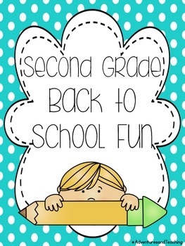 Second Grade Back to School Writing and Fun Pack NO PREP