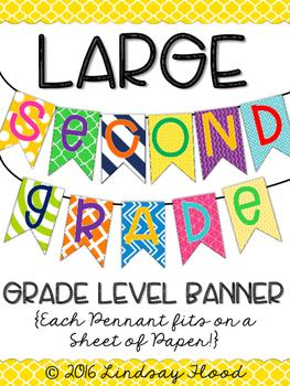 Second Grade Banner