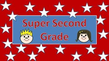 Second Grade Banner for Website