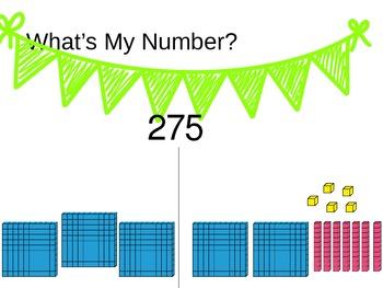 Second Grade Base Ten Number Talk Fluency