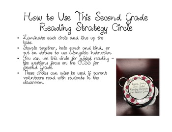 Second Grade Before, During and After Reading Questioning and Strategy Circles