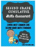 Second Grade Math Skills Assessment