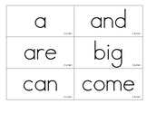 Benchmark Advance Grade 2 High Frequency Word cards- all 10 units