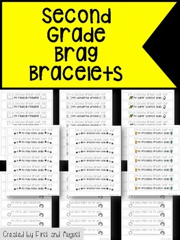 Second Grade Brag Bracelets