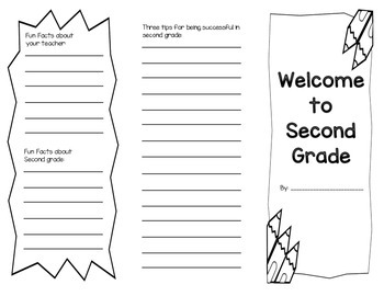 Second Grade Brochure