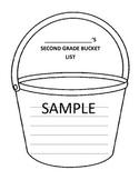 Second Grade Bucket List