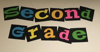 Second Grade Bulletin Board
