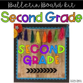Second Grade Bulletin Board Kit