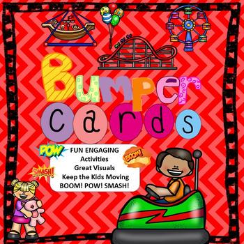 Second Grade Bumper Cards *Common Core*