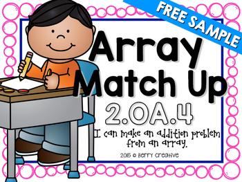 Second Grade CC Math Station 2.OA.4 {FREEBIE}