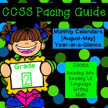 Second Grade CCSS Pacing Guide
