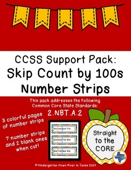 Second Grade CCSS.Math.2.NBT.A.2: Skip Counting by 100s Nu