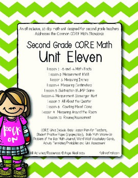 Second Grade CORE Math Unit 11
