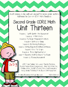 Second Grade CORE Math Unit 13