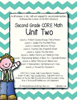 Second Grade CORE Math Unit 2