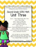 Second Grade CORE Math Unit 3