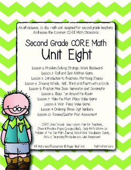 Second Grade CORE Math Unit 8