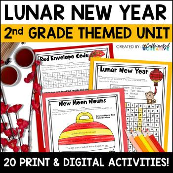 Chinese New Year Literacy and Math Second Grade Mini Unit