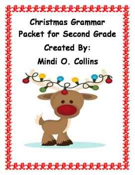 Second Grade Christmas Grammar Packet for Second Grade