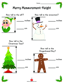 Second Grade Christmas Math Activities