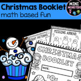 Second Grade Christmas Math Booklet
