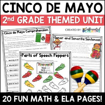 Cinco de Mayo Literacy and Math Second Grade Mini Unit