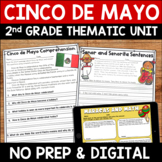 Cinco de Mayo Literacy and Math Second Grade Mini Unit