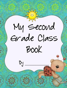 Second Grade Class Book