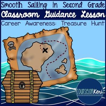 Classroom Guidance Lesson: Career Awareness - Career Treasure Hunt!