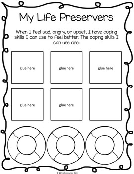 Coping Skills Classroom Guidance Lesson for Identifying Calming Strategies