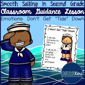 "Classroom Guidance Lesson: Emotions - Don't Get ""Tide"" Down!"