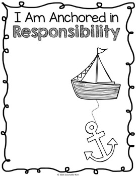 Classroom Guidance Lesson: Responsibility - ANCHOR Yourself!