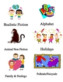 Second Grade Classroom Library Labels