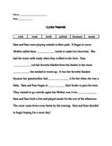 Second Grade Cloze Passage (Comprehension)