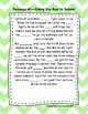 Second Grade Cloze Reading Passages Set A (Passages 1-10)