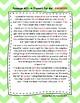 Second Grade Cloze Reading Passages Set C (Passages 21-30)