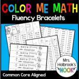 """""""Color Me Math"""" Fluency Bracelets"""