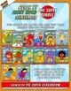 Second Grade: Color by Sight Word Sentences - The Super Bundle