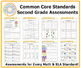Second Grade Common Core Assessment Workbook
