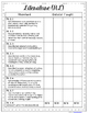 Second Grade Common Core Checklist for Teachers – ELA & Math