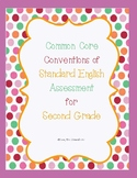 Second Grade Common Core Conventions Assessment